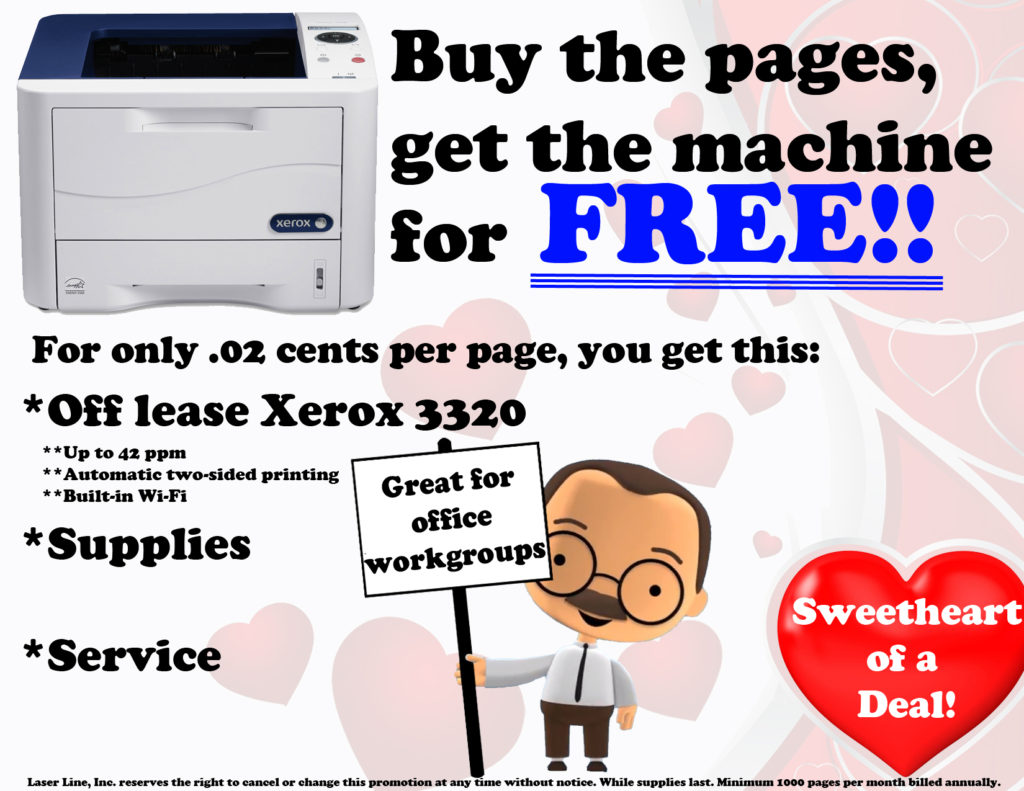 Free Xerox printer